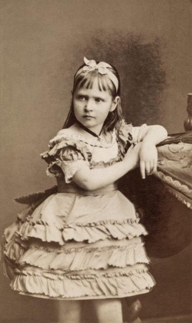 Princess Alix of Hesse 1877