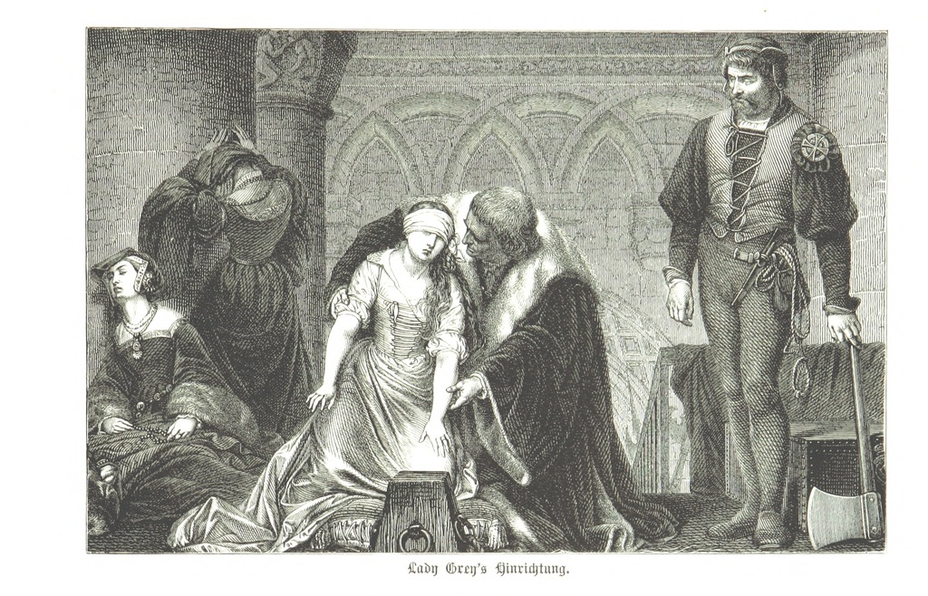 """Tower of London from """"Zehn Bilder aus Süd-England oder: Wanderungen und Betrachtungen eines Katholiken, etc. [Illustrated.]"""""""