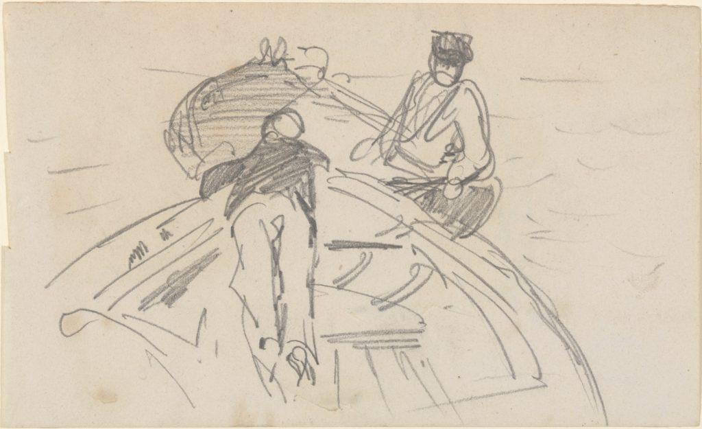 Two Men in Boats