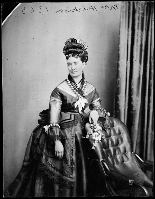 Mrs Hutchison, August 1878 / photographer American &  Australasian Photographic Company