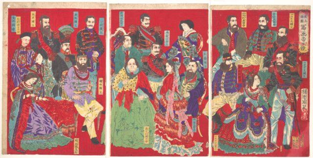 Mirror of Portraits of All Sovereigns in the World (Sejō kakkoku shaga teiō kagami)