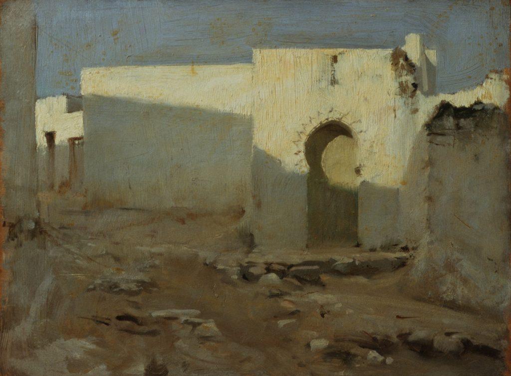 Moorish Buildings in Sunlight