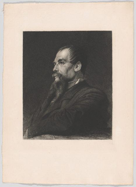 "Portrait of Captain Burton (for ""The Portfolio"")"