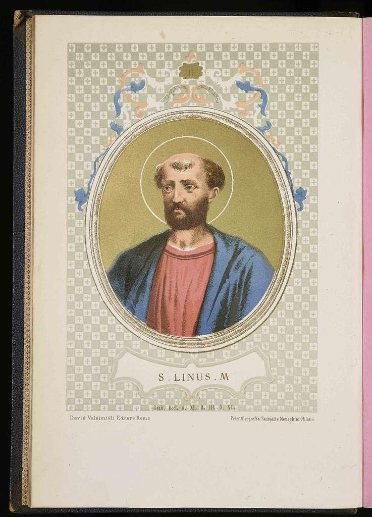 Linus. Lino, santo e papa