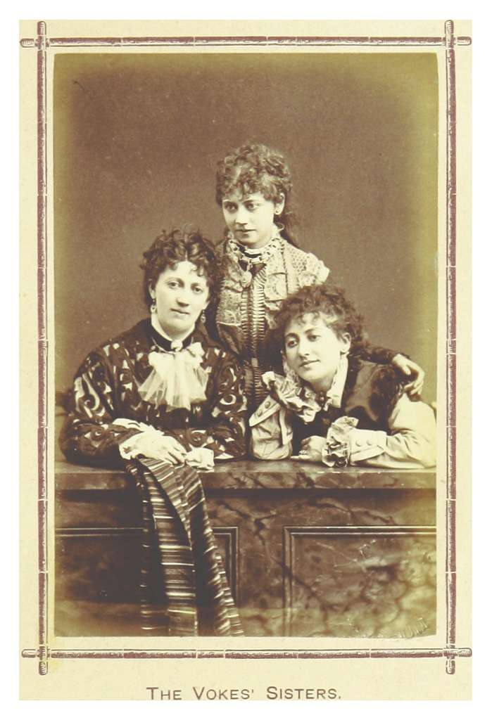 LONDON ILLUSTR(1879) p8.137 THE VOKES SISTERS