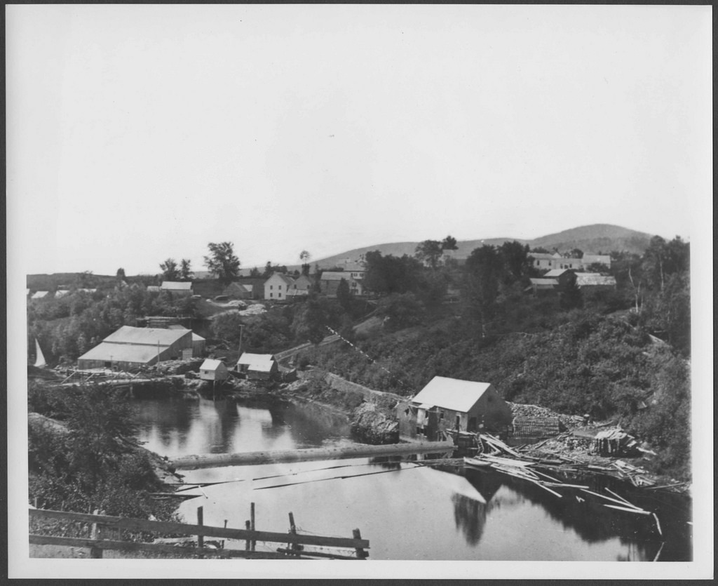 Mill at Ducktrap looking southeast 1879.tif