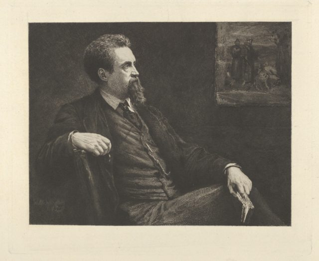 Henry Stacy Marks (from 'The Portfolio')