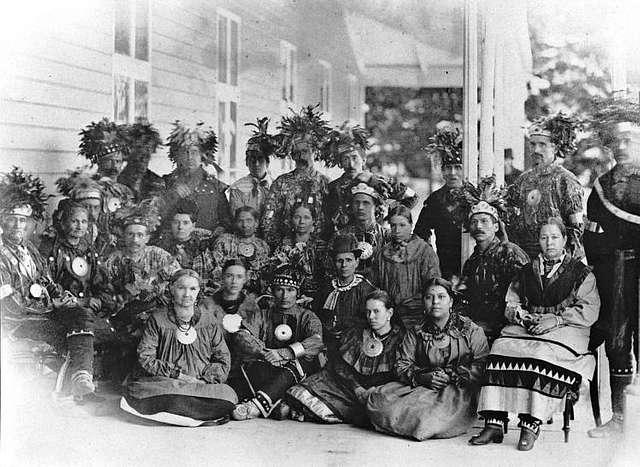 Groupe Huron-Wendat Wendake 1880