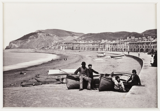 'Aberystwyth, The Parade and Beach'