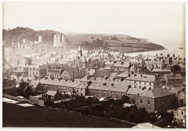 'Carnarvon Castle, View From Twt Hill'