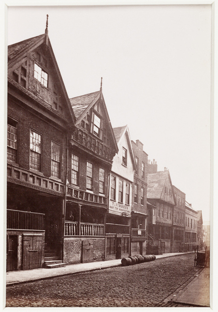 'Chester, View in Watergate Street'