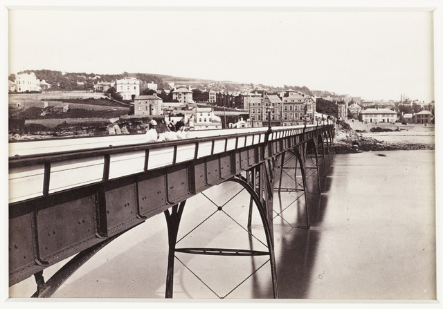 'Clevedon From The Pier'