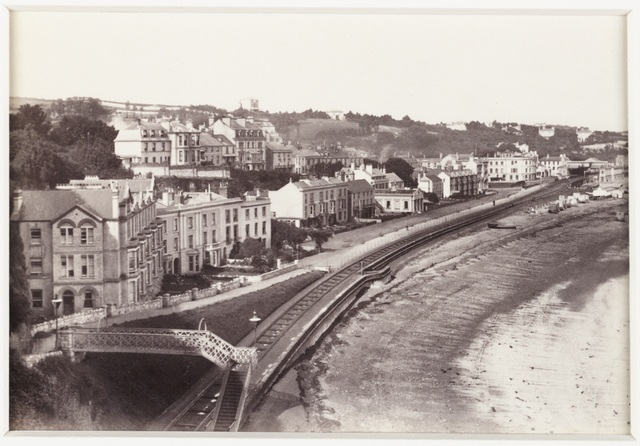 'Dawlish, The Esplanade from Lea Mount'