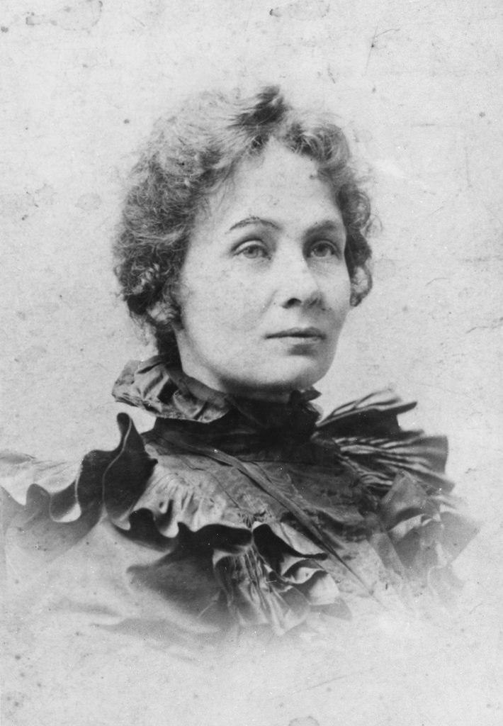 Emmeline Pankhurst, c.1880s.
