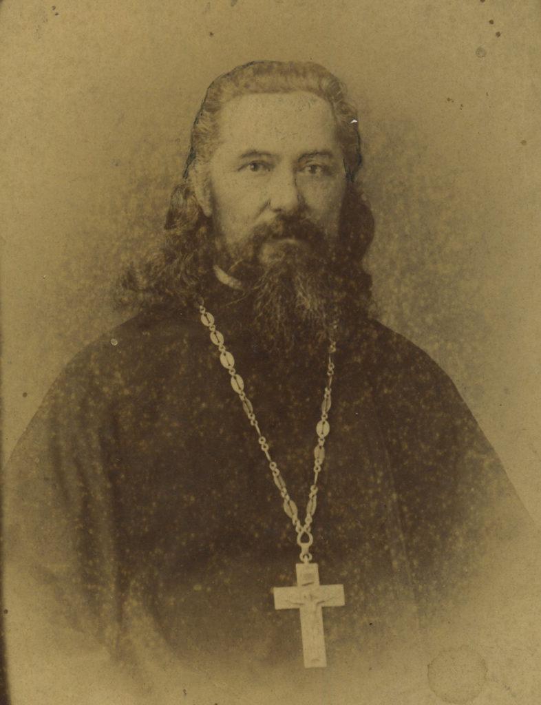Father John Chuprov. 1870s. Murom, Vladimir Province, Russia