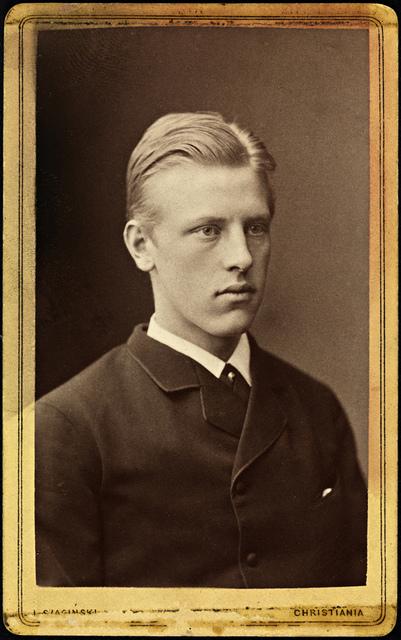 Fridtjof Nansen, ca 1880