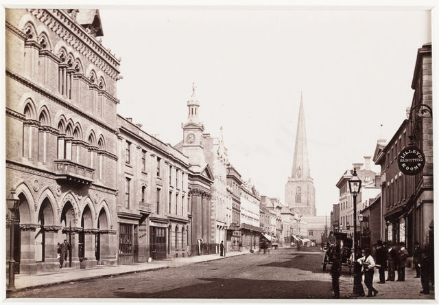 'Hereford, Broad Street and Free Library'