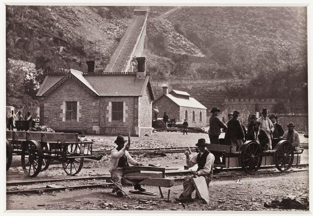 'Llanberis, Quarrymen and Velocipedes'