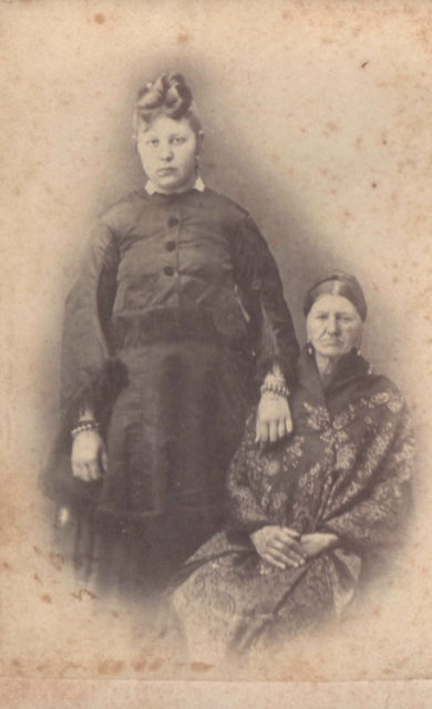 Murom, Grandmother with granddaughter. 1870s