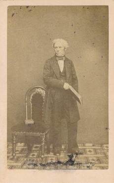 Photograph of Professor Faraday