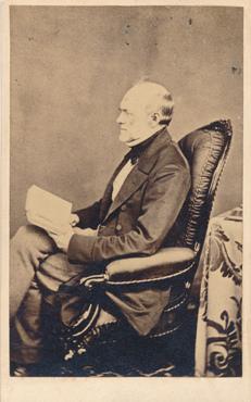 Photograph of Sir Charles Lyell