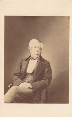 Photograph of the Earl of Carlisle