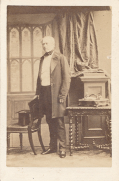 Photograph of the Earl of Clarendon