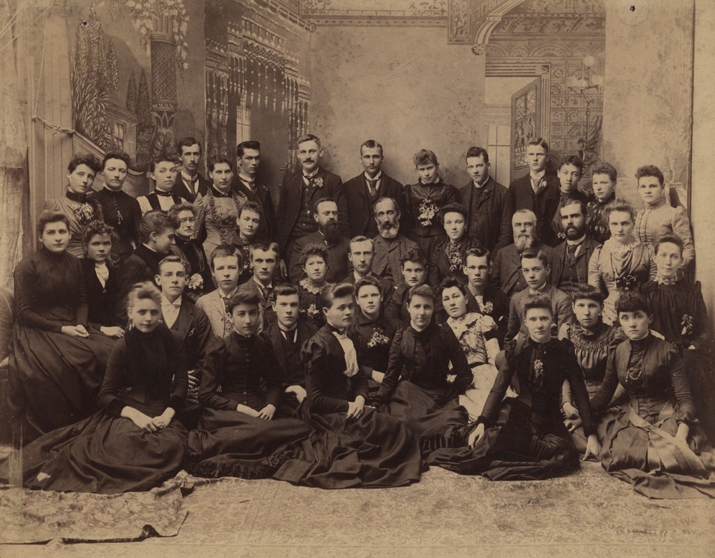 Portrait of large gathering, date unknown