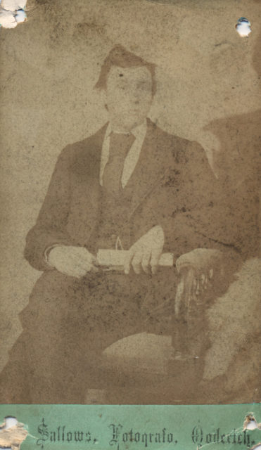 Portrait of man, date unknown