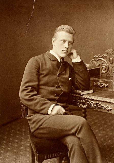 Portrett av Fridtjof Nansen, ca. 1880