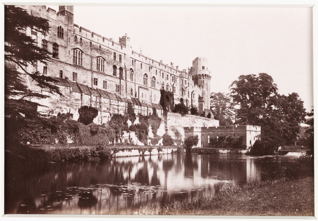 'Warwick Castle, the River Front'