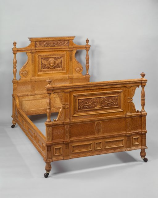 Bedstead from the Henry Gurdon Marquand House, New York City