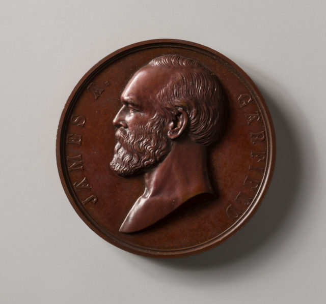 Inauguration Medal of President Garfield