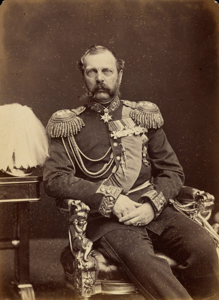 "Alexander II, emperor of Russia from 1855 to 1881, ""Czar Liberator""."