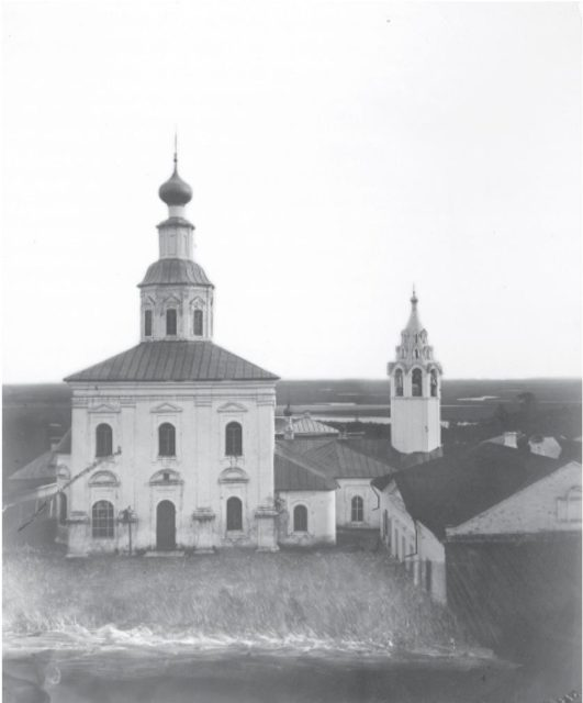 Vladimir - St. George's Church. 1876-1881