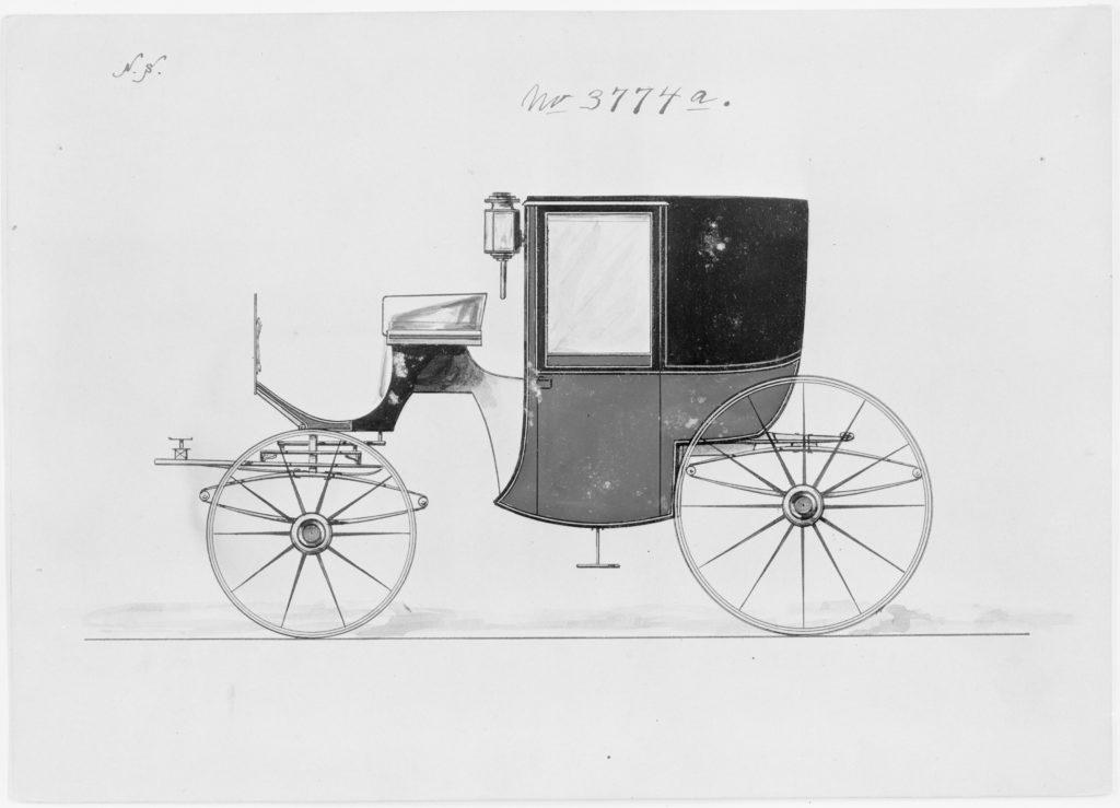 Design for Brougham, no. 3774a