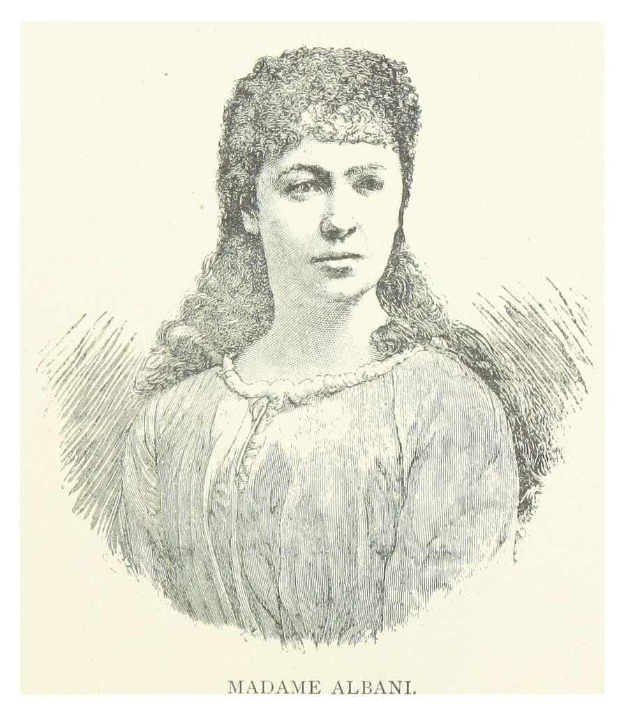 LONDON ILLUSTR(1882) p11.126 MADAME ALBANI