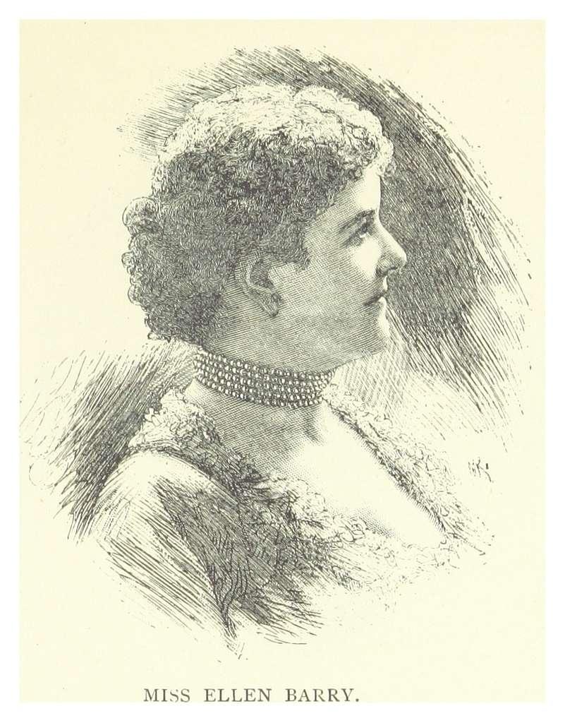 LONDON ILLUSTR(1882) p11.133 MISS ELLEN BARRY