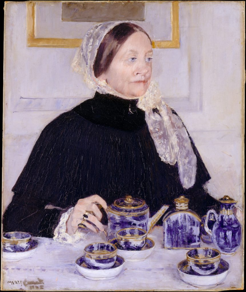 Lady at the Tea Table