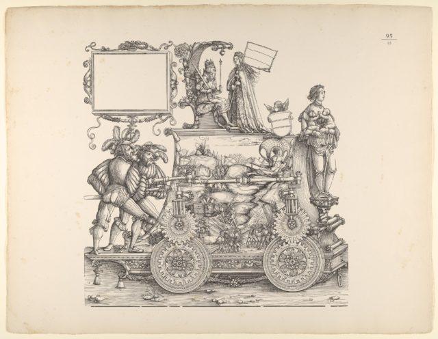 Wartime Triumphs, from The Triumphal Procession of Emperor Maximilian (Triumph Des Kaisers Maximilian I)