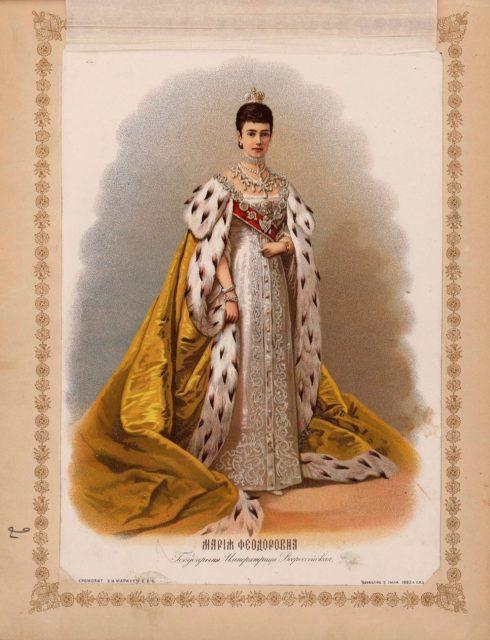 Album of the sacred coronation of the Emperor Alexander III