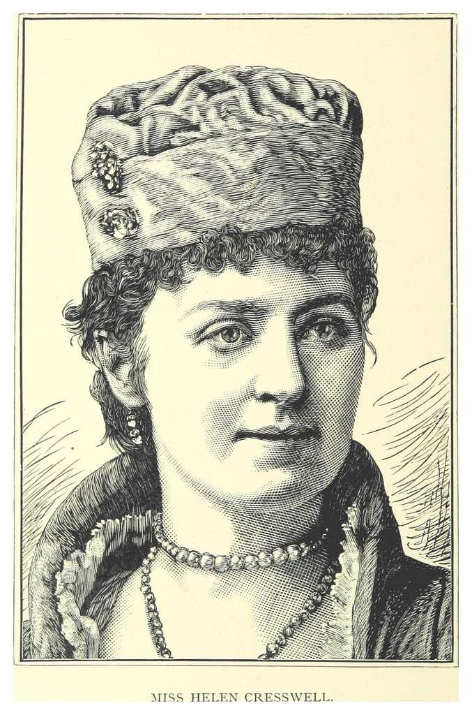 LONDON ILLUSTR(1883) p12.130 HELLEN CRESSWELL