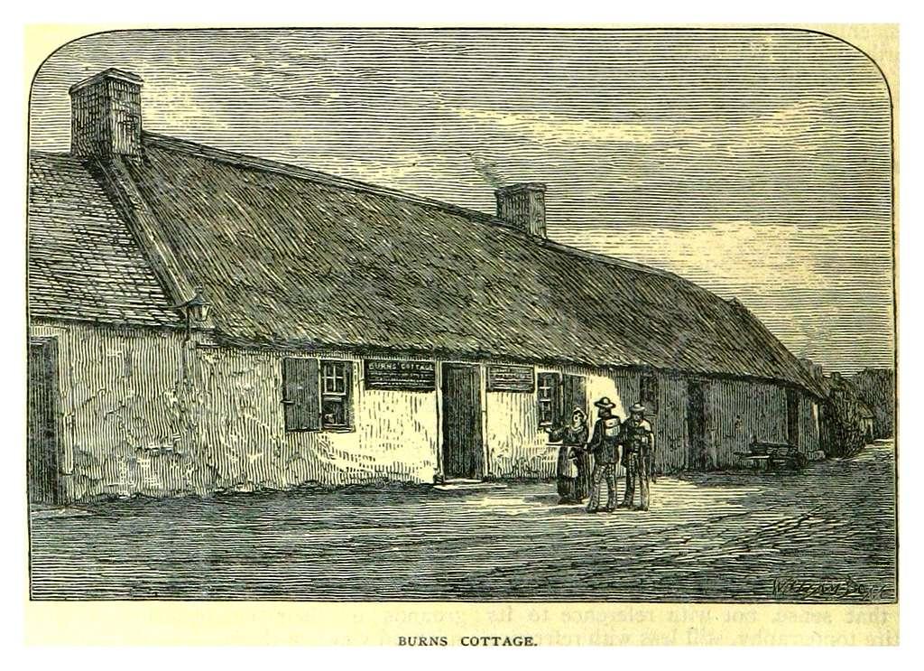PATERSON(1883) p072 BURNS COTTAGE