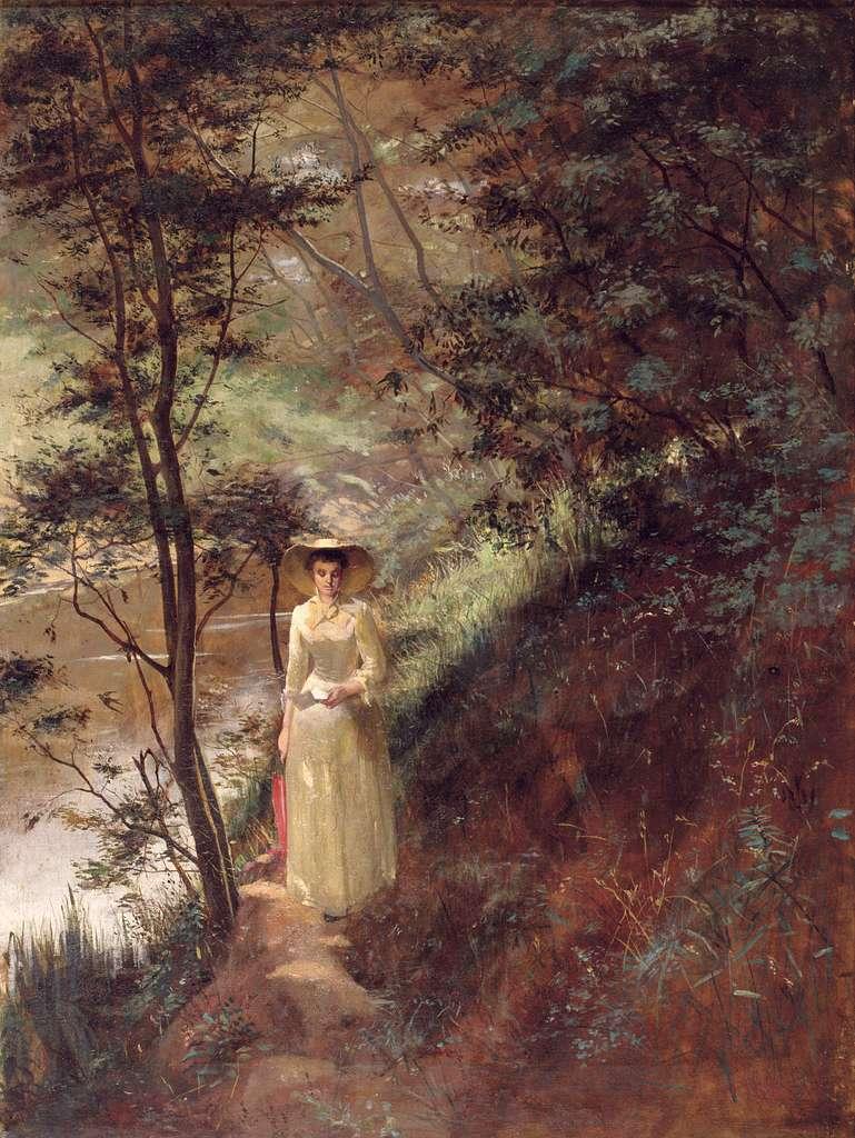 Frederick mcCubbin - The Letter, 1884