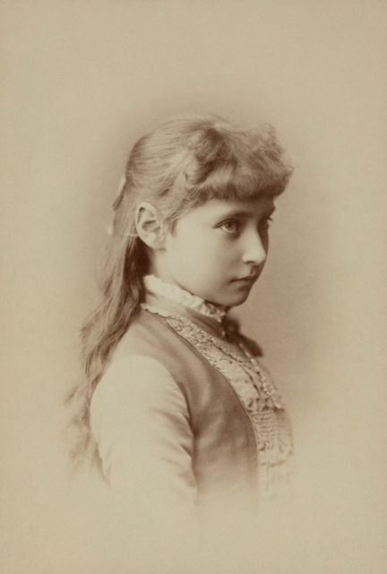 Princess Alix of Hesse  circa 1884