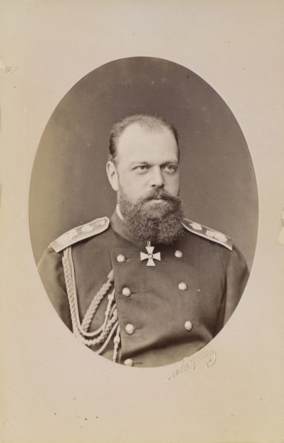 Alexander III, the Emperor of Russia, 1890