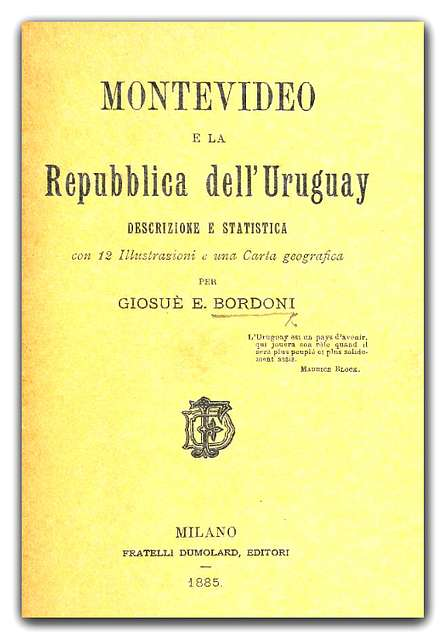 BORDONI (1885) Montevideo