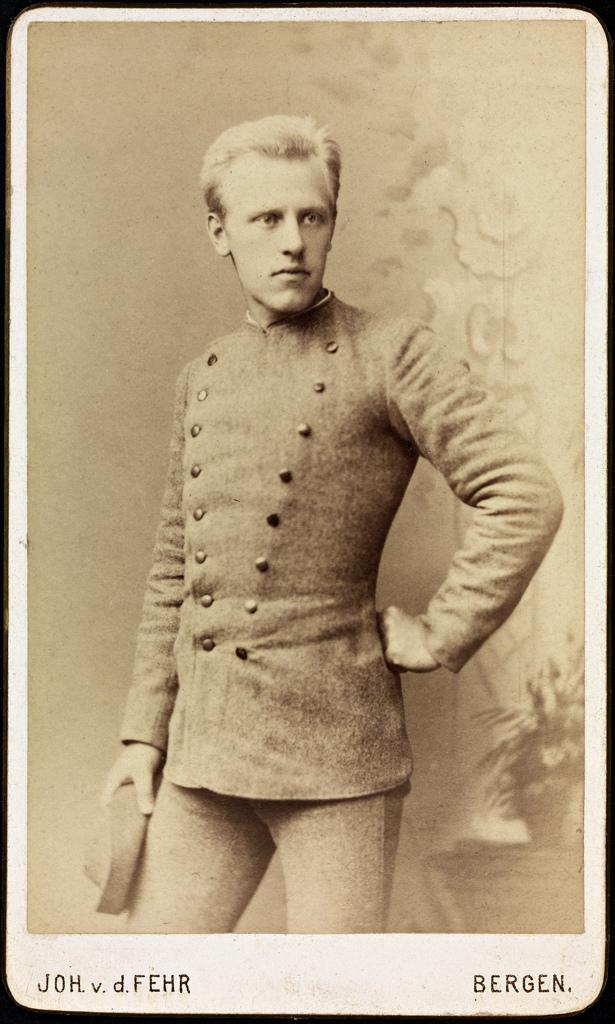 Fridtjof Nansen, 1885