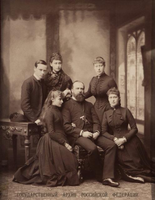 Hessen Family 1885.