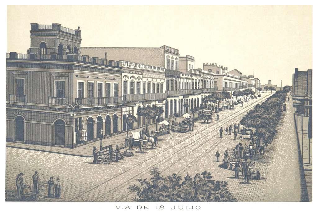 Montevideo, VIA DE 18 JULIO